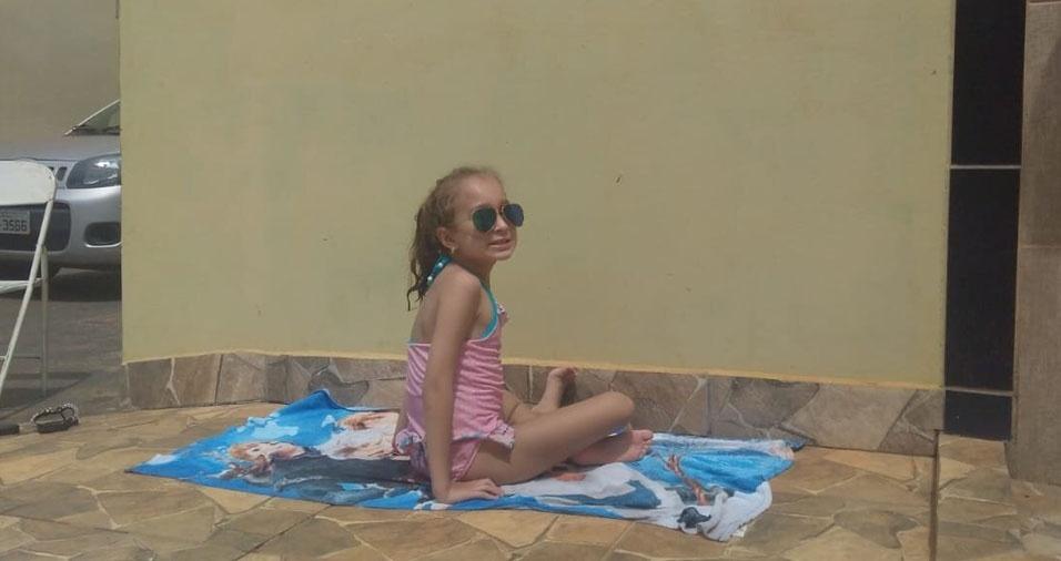 """Larissa da Silva Maria é a filha do Décio Maria Júnior e da Cíntia. Eles moram em Ibitinga (SP): """"Amamos muito a nossa criança"""""""