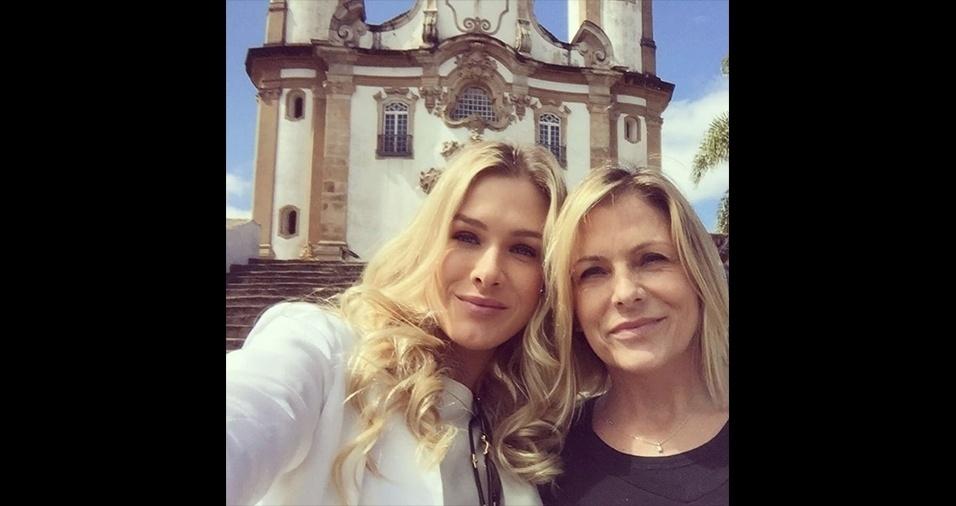 Sandra Mattheis, 54 anos, mãe de Fiorella Mattheis