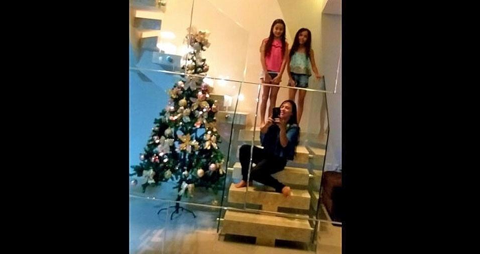 Cristiane Oliveira Prates, de Posto da Mata (BA), diz que vê o BOL todos os dias. Feliz Natal!