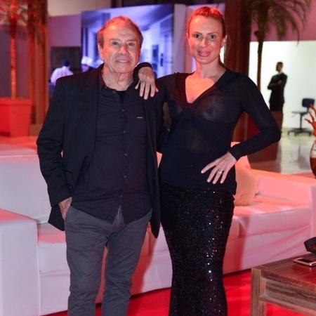 Stênio Garcia com Marilene Saade - AgNews