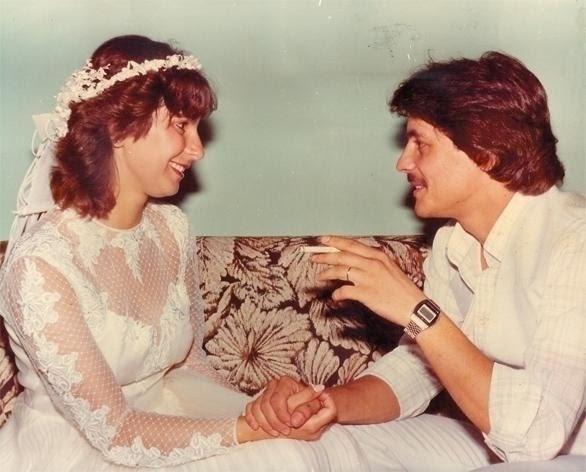 Jorge Paiva de Souza Lima e Rosa Maria Mantovani casaram em Juiz de Fora (MG) no dia 18 de janeiro de 1983.