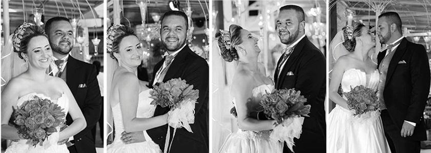 Wagner Boaventura e Claudia Ginack casaram em Itaquaquecetuba (SP) no dia 8 de dezembro de 2012.
