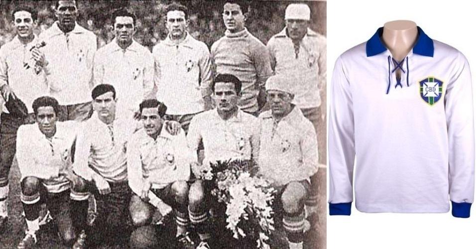 Compare a nova camisa da seleção com as de outras Copas - BOL Fotos ... ab589384ab59a