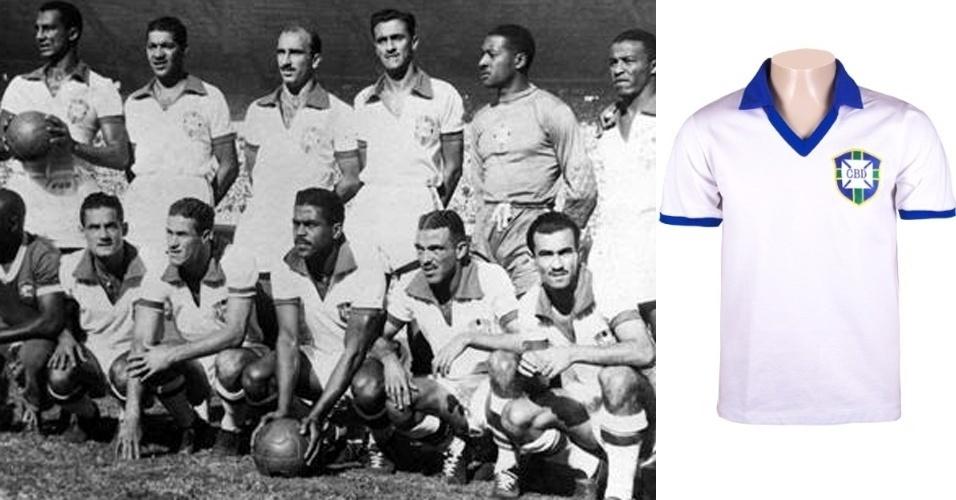 Camisa da seleção brasileira (1950)