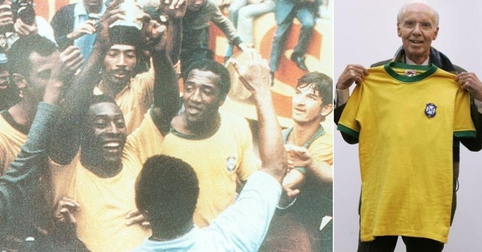 Camisa da seleção brasileira (1970)