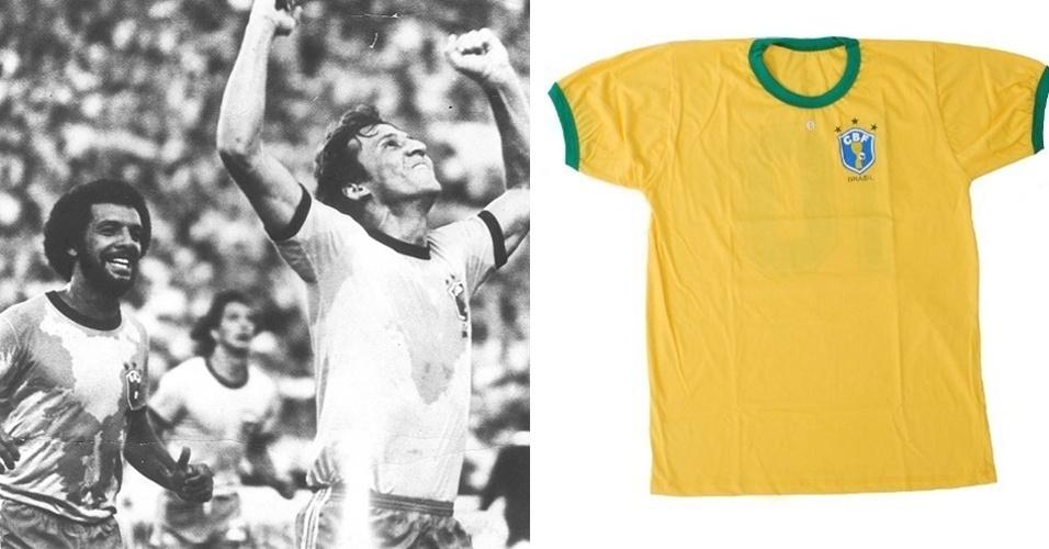 Camisa da seleção brasileira (1982)