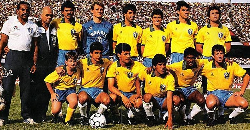 Camisa da seleção brasileira (1990)