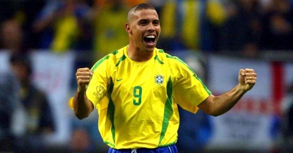 Camisa da seleção brasileira (2002)