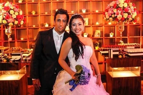 Victor Hugo Nogueira e Letícia Nogueira oficializaram a união em Dourados (MS), no dia 10 de novembro de 2012.