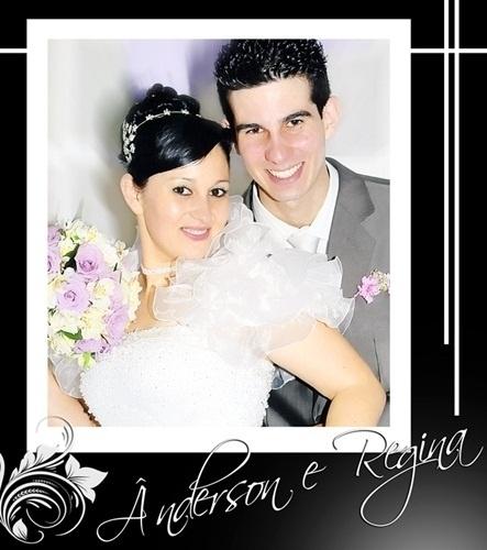 Ânderson e Regina Rodrigues casaram em Novo Hamburgo (RS) no dia 27 de novembro de 2010.