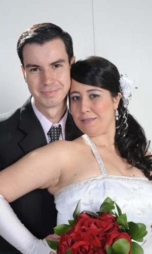 Allan Grandi e Samara Ribeiro, de Farroupilha (RS), casaram-se em 24 de setembro de 2011.