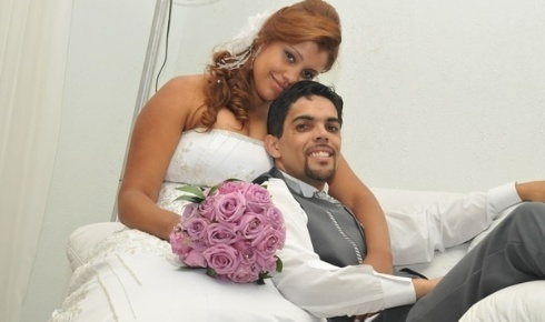 Casados desde 10 de dezembro de 2011, Clodoaldo Lima Luiz e Noemia Silva Luiz são de Osasco (SP).
