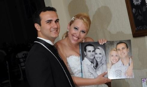 Denis Leandro Maganhoto e Paula Roberta Calsa Padrone Maganhoto são de Limeira (SP) e se casaram em 28 de janeiro de 2012.