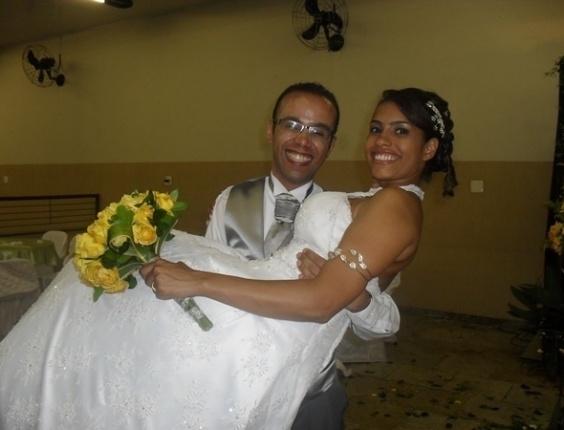 Luciano Torres da Silva e Regiane Gomes Teixeira, de São Bernardo do Campo (SP), estão casados desde 15 de maio de 2010.