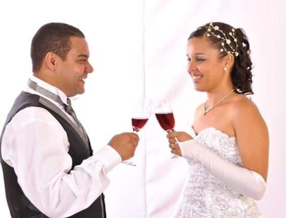 Ney André Pereira de Souza e Deniziane Rosa dos Santos Souza, de Guanhães (MG), casaram-se em 2 de abril de 2011.