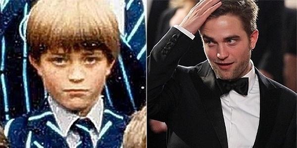 02.jun.2013 - Será que Robert Pattinson teria conquistado o coração das garotas se tivesse mantido o cabelo 'tigelinha'? O astro da saga 'Crepúsculo' aparece na época em que ainda estava na escola.
