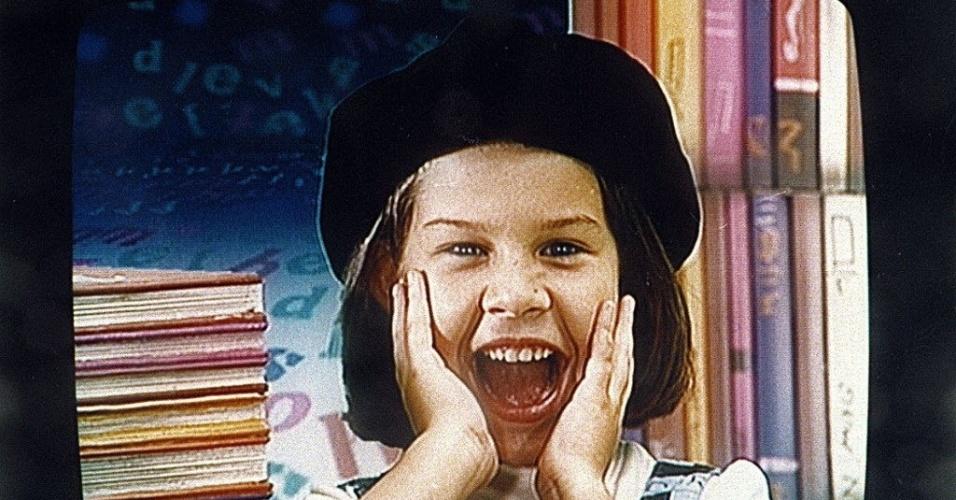 1992 - Antes do papel na novela