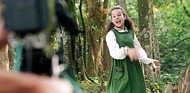 1997 - Fernanda Souza participa das gravações da abertura da novela