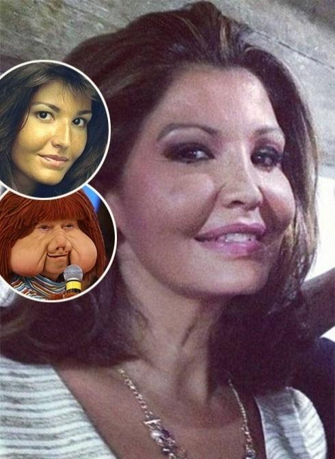 20.jun.2013 - Considerada musa nos anos 80, hoje, aos 48 anos, Roberta Close exibe um rosto bem diferente daquele com traços delicados