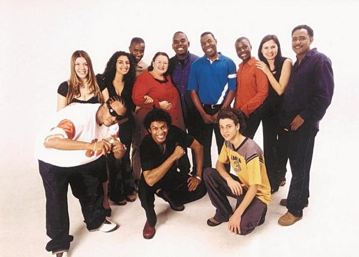 """15.set.2002 - Simony atuou no seriado """"A Turma do Gueto"""", na Record, de 2002 a 2004"""