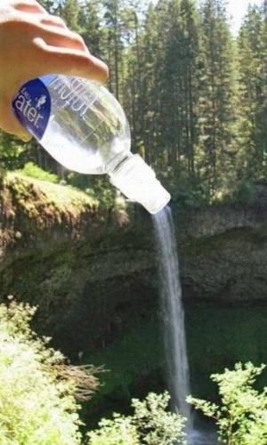 Cachoeira de garrafa