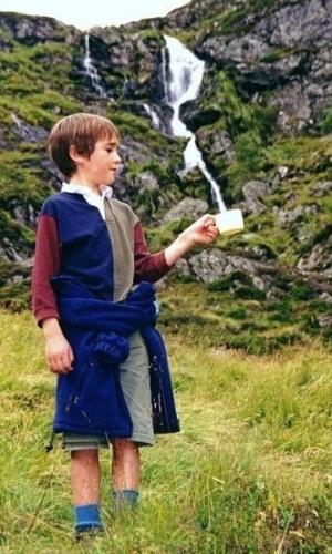 Vai uma xícara de cachoeira?