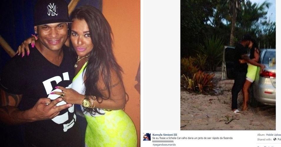 24.jul.2013 - Morena publica suposta foto de traição do músico Tony Salles, marido da peoa Scheila Carvalho. A autora das imagens é Kamyla Simioni, um jovem de 24 anos, de Belo Horizonte (MG)