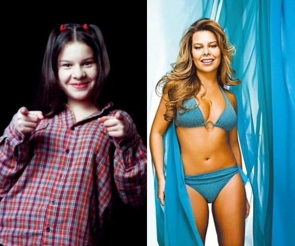 9.ago.2013 - Após três cirurgias plásticas, Fernanda Souza revelou, em entrevista ao site