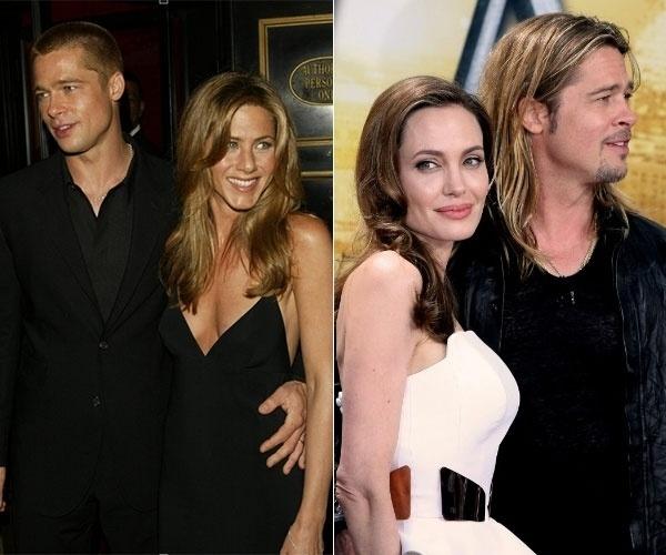 """13.ago.2013 - No último domingo (11.ago), as atrizes Jennifer Aniston e Angelina Jolie iriam voar no mesmo avião para Londres. No entanto, ao descobrir que teria que ver a morena, Jennifer preferiu evitar o encontro e remarcou o voo para segunda-feira (12). As informações são do site """"X17"""". Vale lembrar que a loira já foi casada com o atual marido de Angelina. Jennifer e Brad Pitt começaram a namorar em 1998 e se casaram no dia 29 de julho de 2000. Cinco anos depois, a atriz pediu o divórcio, e, menos de um mês depois, Brad assumiu o relacionamento com Angelina. No início, ele negou que o envolvimento tenha sido o motivo da separação, mas depois, em entrevista, ao falar do filme """"Sr. e Sra. Smith"""", que ele protagonizou ao lado da atual esposa, o ator deixou escapar um detalhe dos bastidores: """"Poucas pessoas têm a chance de ver um filme no qual seus pais se apaixonaram"""", afirmou referindo-se aos filhos que tem com Angelina. A questão é que o longa foi gravado em 2004, um ano antes de Jennifer pedir o divórcio"""