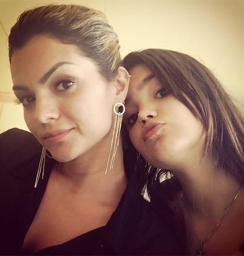 16.set.2013 - Aos 13 anos, a filha de Kelly Key, Suzanna, é uma versão mais nova e morena da mãe. A adolescente, que completa 13 anos em outubro, sempre aparece em fotos publicadas pela orgulhosa Kelly, de 30 anos, no Instagram. A menina é filha da cantora com Latino, mas puxou os traços da mãe