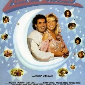 """Sérgio Malandro e Xuxa na capa do VHS de """"Lua de Cristal"""" - Divulgação"""