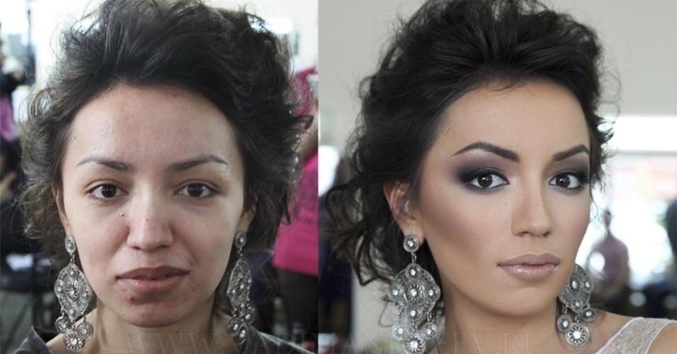 Maquiador russo Vadim Andreev também é reconhecido por fazer transformações fantásticas