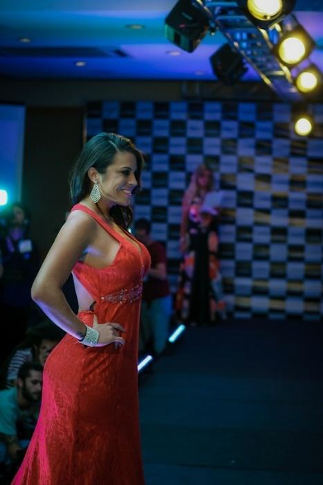 13.nov.2013 - Mais votada da primeira fase do concurso, Jéssica Amaral fecha a primeira parte da final do Miss Bumbum 2013