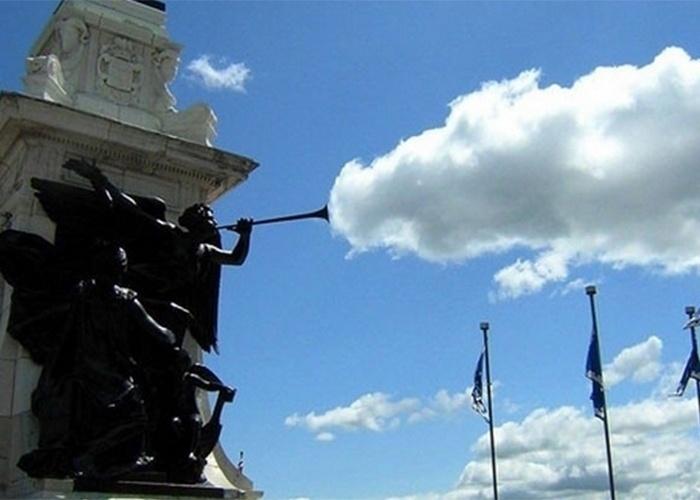 Cornetando as nuvens