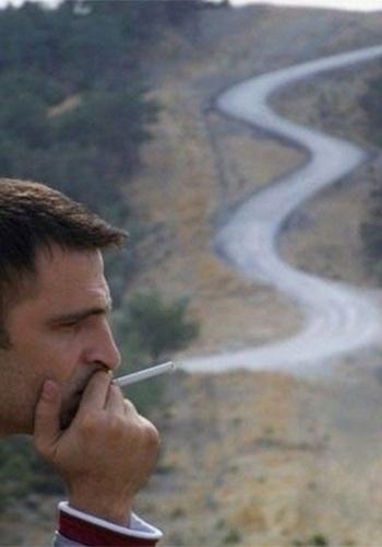 Uma estrada de fumaça