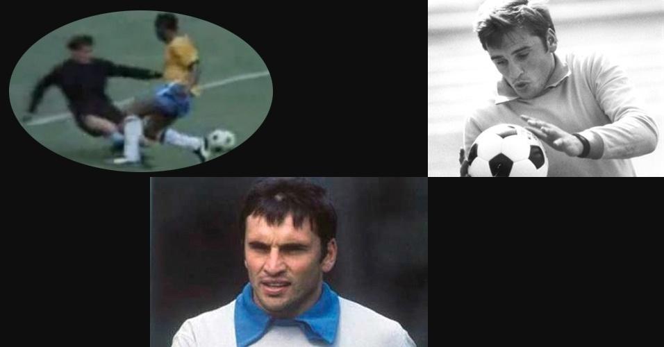 """2.jan.2013 - O goleiro uruguaio Ladislao Mazurkiewicz, campeão da Libertadores da América pelo Peñarol em 1966, morreu aos 67 anos devido a problemas respiratórios e renais. Mazurka é mais conhecido dos brasileiros por ter sido coadjuvante em um dos lendários lances de """"gol que o Pelé não fez"""" na Copa do Mundo de 1970, disputada no México. O lance ocorreu na vitória por 3 a 1 do Brasil contra o Uruguai na semifinal daquela Copa, no dia 17 de junho de 1970."""