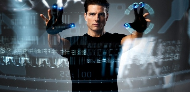 """Tom Cruise era o protagonista da ficção científica """"Minority Report"""", dirigida por Steven Spielberg"""