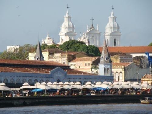 """""""Vista do complexo do Ver-o-Peso -   Belém - Pará."""""""