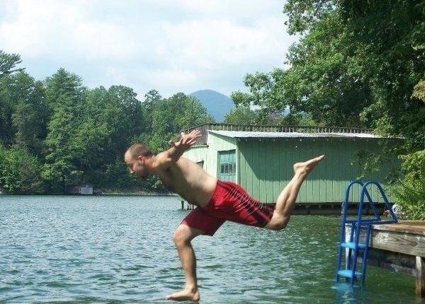 Correndo sobre a água