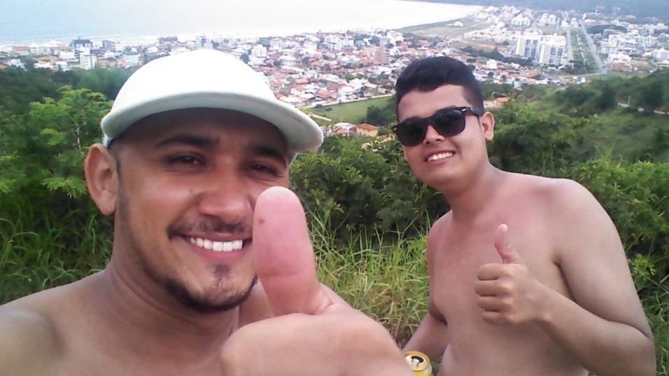 Thiago Miguel e Dj Elyson, de Florianópolis (SC)