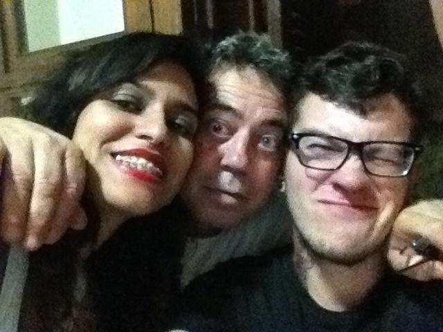 Luiz Carlos, Mayara Carolina e Felipe Aguila, de Belo   Horizonte (MG)