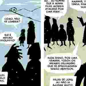 Inicialmente, as HQs do Muzinga giram em torno de três personagens, um deles é Muzinga, um aventureiro de quase 200 anos. - Divulgação