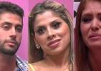 """Amanda, Marcelo e Vanessa formam o 7º paredão do """"BBB14"""". Quem deve sair? - Reprodução / TV Globo"""