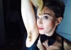 """""""Madonna aderindo à nossa moda"""", diz Bella sobre axilas peludas da cantora - Reprodução/Instagram"""