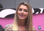 Faustão e Tatiele se estranham ao vivo; via Twitter, ex-BBB se explica - Reprodução / TV Globo
