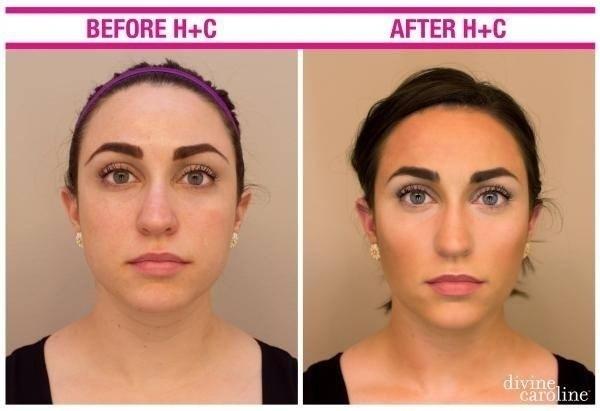 Na imagem é possível notar um destaque para os olhos e uma maquiagem leve para esconder as sardas