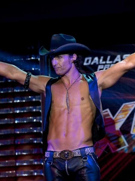 """Matthew McConaughey, que ganhou Oscar de melhor ator  por """"Clube de Compras Dallas"""" (2013), também deu vida a um stripper em """"Magic Mike"""" (2012) - Divulgação"""