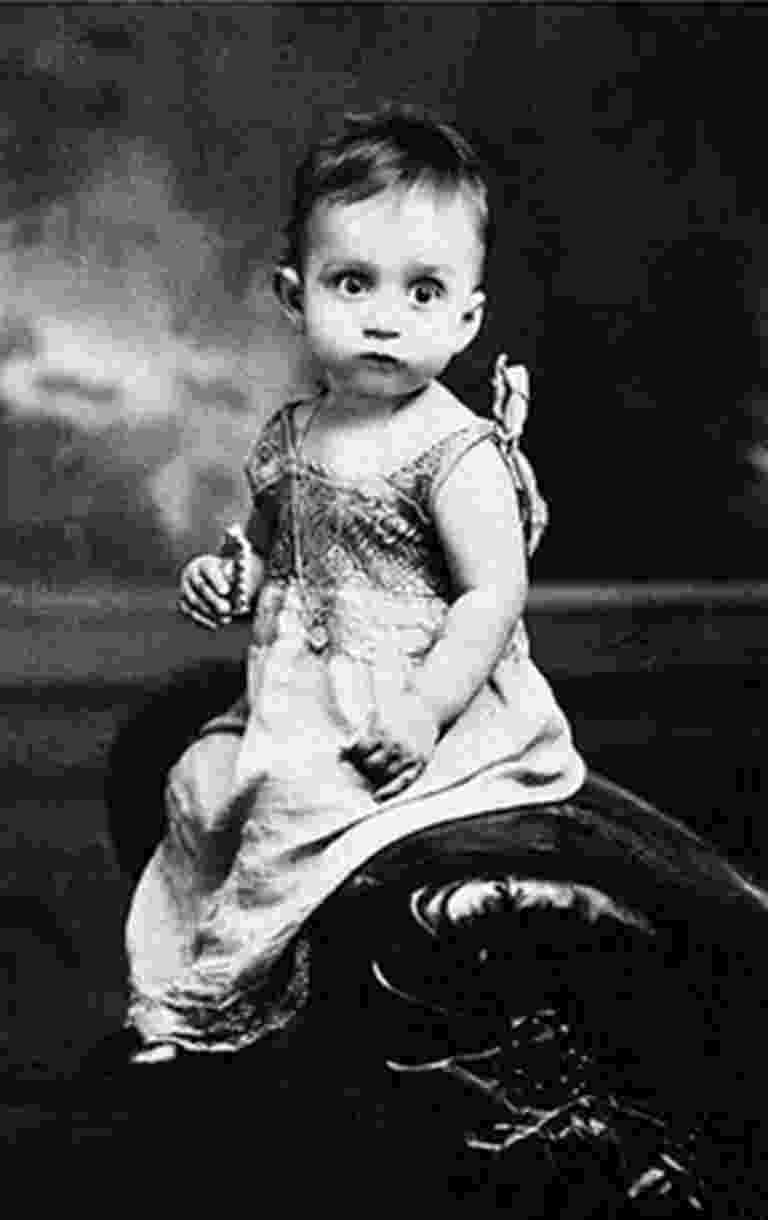 Gabriel García Márquez em foto da infância - Reprodução