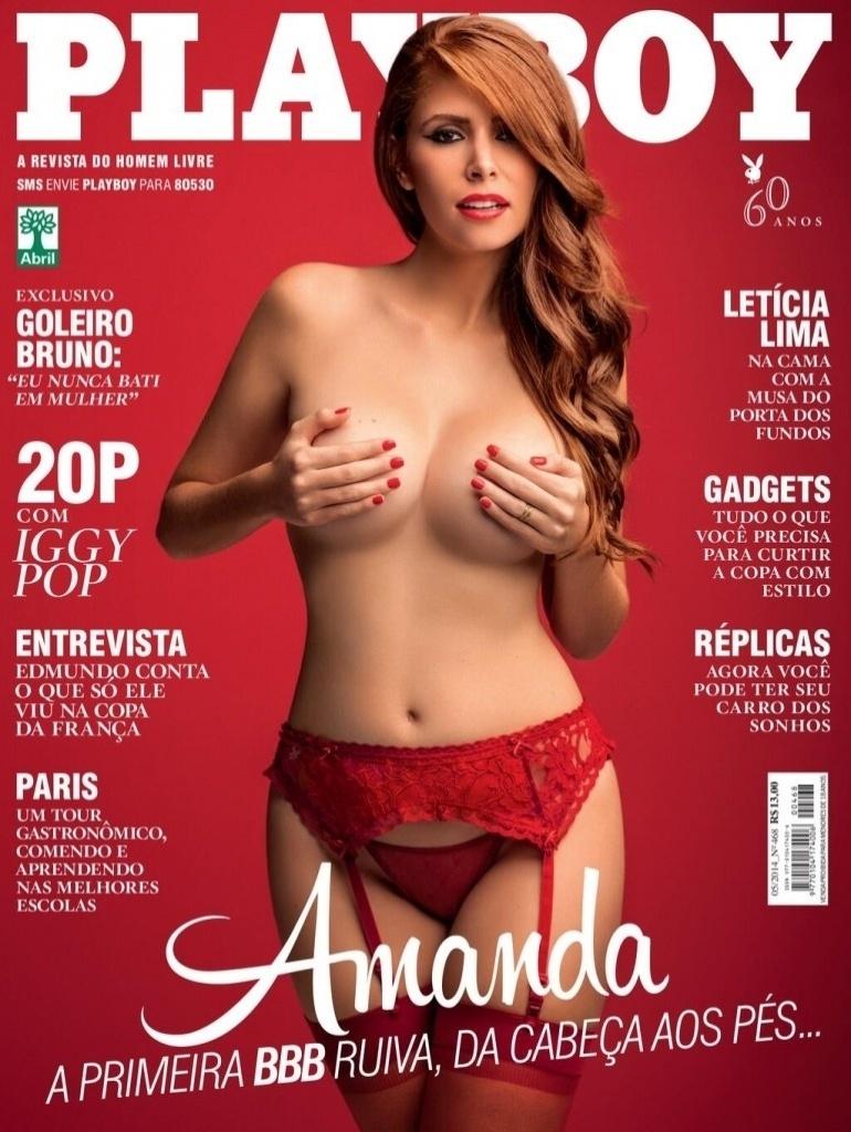 Amanda Gontijo Pelada playboy com a ex-bbb amanda é a menos vendida da história da