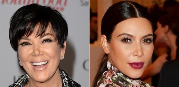Kris Jenner e sua filha Kim Kardashian - Getty Images, Getty Images